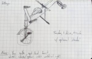 tandem_tricycle_sketch_amsterdam
